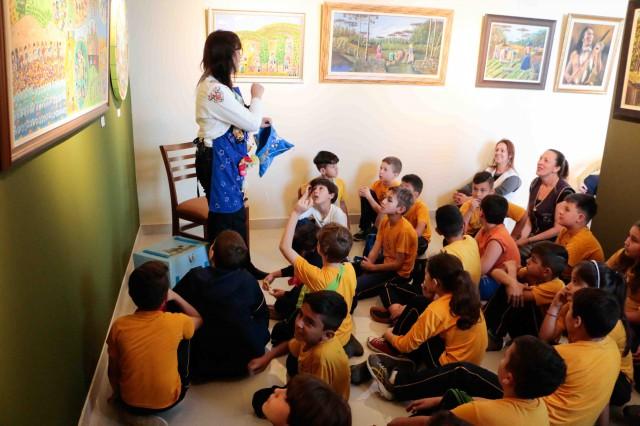 Arte-Educação na Exposição Inspiração na Criação